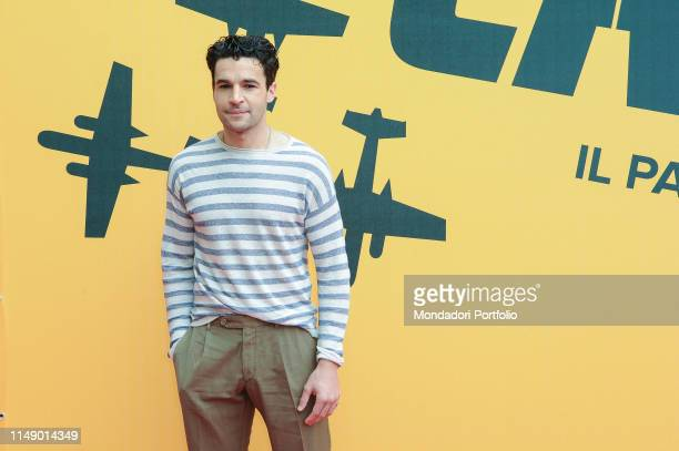 American actor Christopher Abbott attends the Sky TV series Catch-22 photocall. Rome , May 13th, 2019