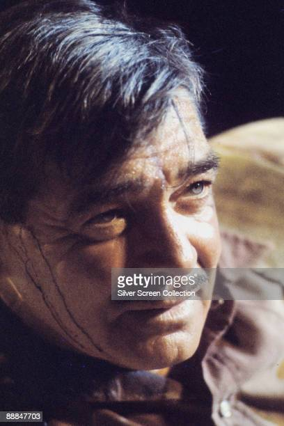American actor Clark Gable as cowboy Gay Langland in John Huston's western 'The Misfits' 1960