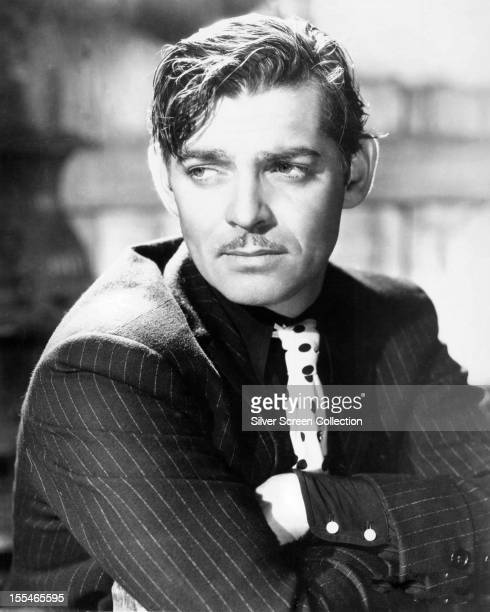 American actor Clark Gable circa 1935
