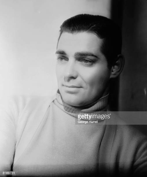 American actor Clark Gable Known as the King of Hollywood he died two days after finishing filming on 'The Misfits'