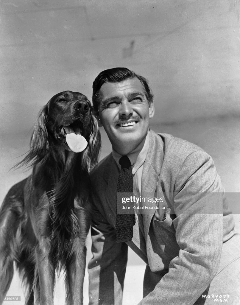 Clark And His Dog : News Photo