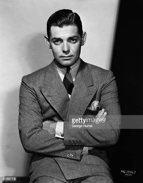 American actor Clark Gable who died two days after finishing filming on 'The Misfits'