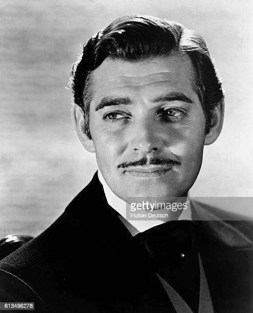 American actor Clark Gable won an Oscar for 'It Happened One Night' but made his reputation with his role as Rhett Butler in 'Gone With the Wind'...