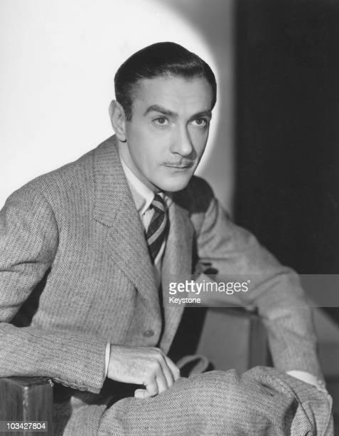 American actor Clifton Webb circa 1944