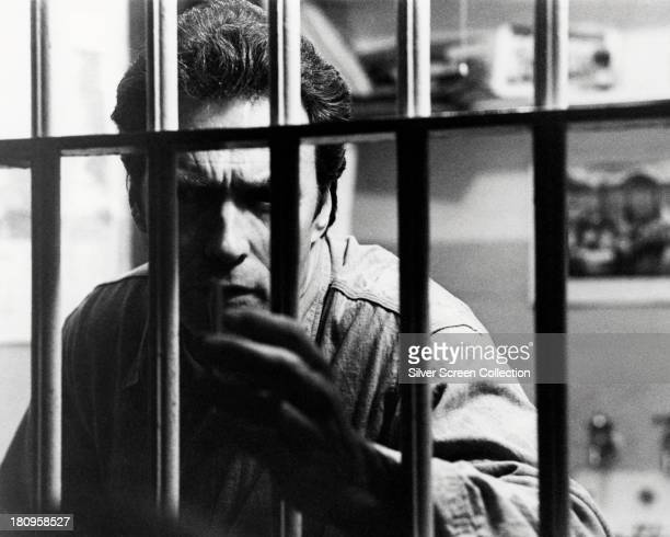American actor Clint Eastwood as Frank Morris in 'Escape From Alcatraz' directed by Don Siegel 1979