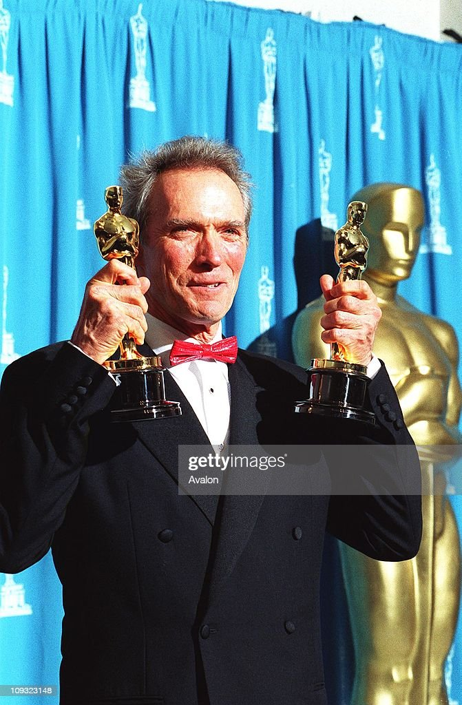 American Actor Clint Eastwood At the 1993 Academy Awards.