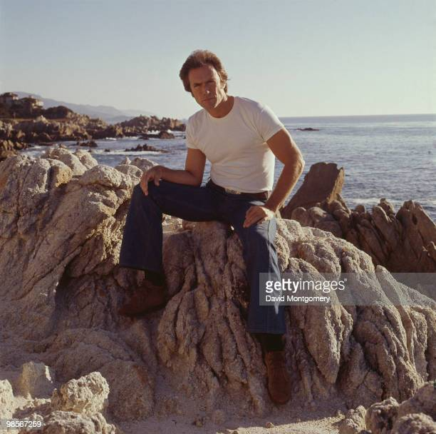 American actor Clint Eastwood circa 1975