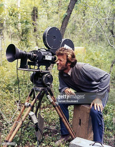 American actor Clint Eastwood on the set of The Beguiled directed by Don Siegel