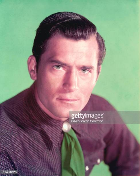American actor Clint Walker as Cheyenne Bodie in the TV western series 'Cheyenne' 1962