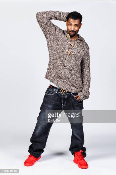 American actor comedian and comedy write Deon Cole is photographed for New York Times on January 20 2016 in Los Angeles California