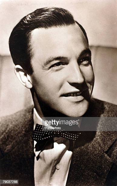 Cinema Personalities circa 1940's American actor Gene Kelly portrait who first made his name in 1942 in the film For Me And My Gal and was perhaps...
