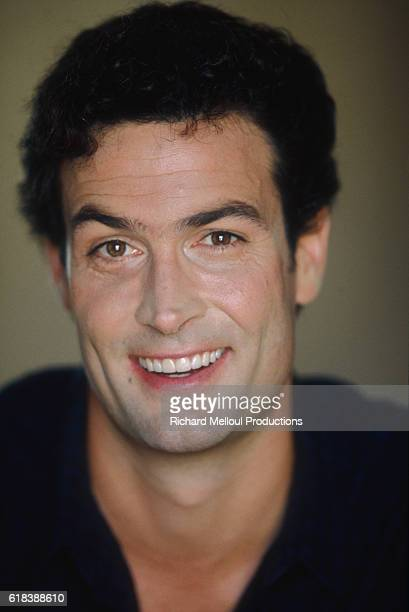 American actor Daniel McVicar smiles in Los Angeles