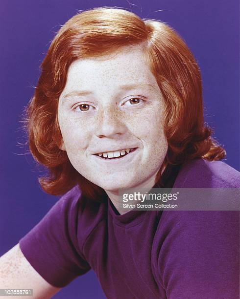 American actor Danny Bonaduce as Danny Partridge in TV's 'The Partridge Family' circa 1970