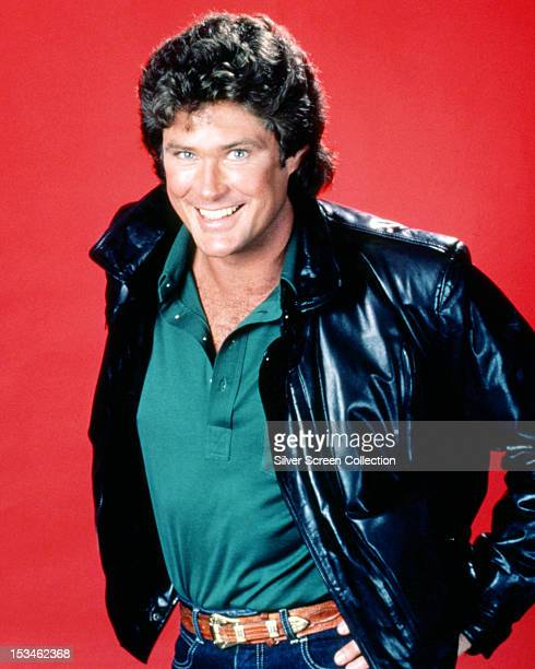 American actor David Hasselhoff star of the TV show 'Knight Rider' circa 1983