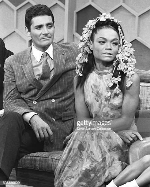 American actor David Hedison and American singer and actress Eartha Kitt appearing on the 'The Merv Griffin Show' 28th September 1967