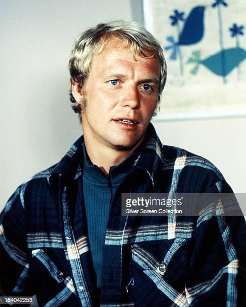 American actor David Soul as Ken 'Hutch' Hutchinson in the TV series 'Starsky And Hutch' circa 1977