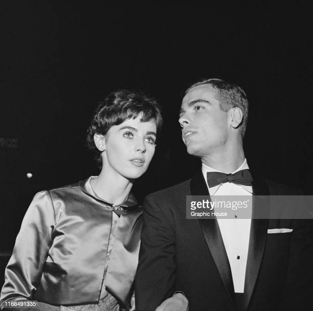 American actor Dean Stockwell with his wife actress Millie Perkins circa 1960