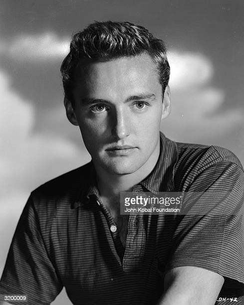 American actor Dennis Hopper at the start of his lengthy movie career.