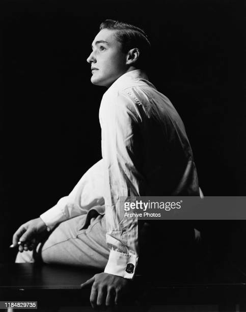 American actor Dennis Hopper shortly before his first feature film 'Rebel Without a Cause' circa 1954