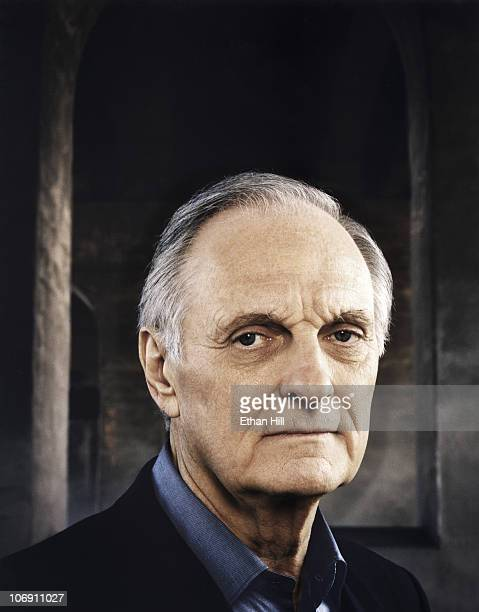 American Actor Director and Screenwriter Alan Alda is photographed for Entertainment Weekly