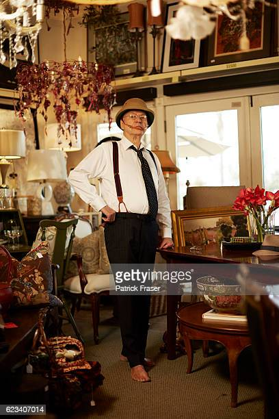 American actor director comedian musician and singer Alan Arkin is photographed for New York Moves on April 4 2016 in San Diego California