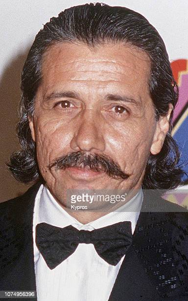 American actor director producer and activist Edward James Olmos at the Desi Entertainment Awards Wiltern Theater Los Angeles US 17th August 1992