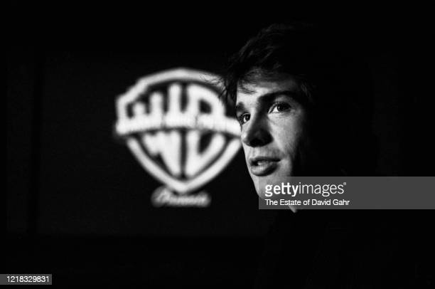American actor, director, producer, filmmaker, and screenwriter Warren Beatty poses for a portrait during a screening of his 1967 blockbuster film,...