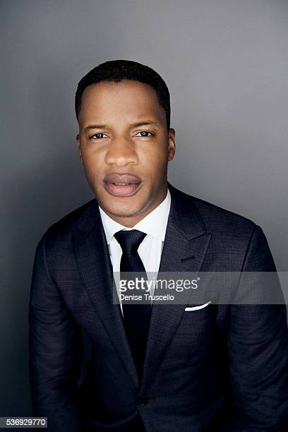 American actor director producer writer Nate Parker is photographed at CinemaCon 2015 on April 12 2016 in Las Vegas Nevada