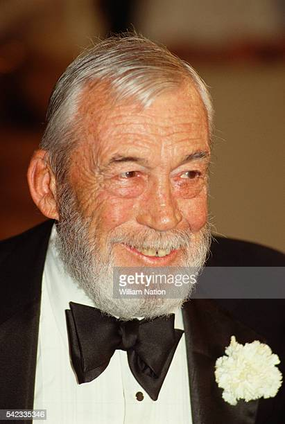 American actor director screenwriter and producer John Huston