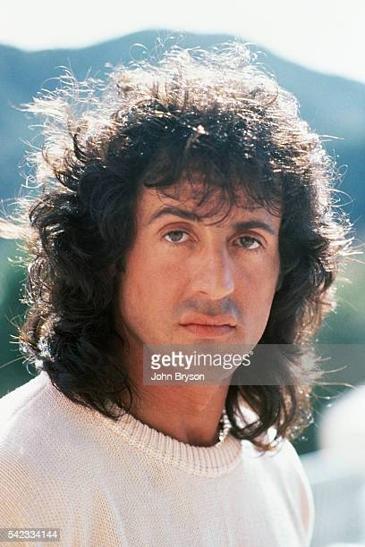 American actor director screenwriter and producer Sylvester Stallone