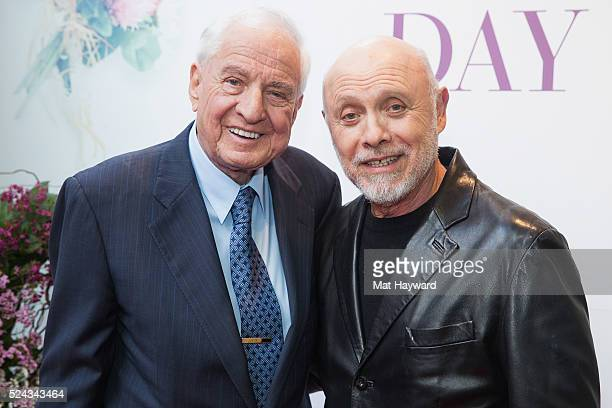 American actor director writer and producer Garry Marshall and actor Hector Elizondo arrive at the Seattle premiere of 'Mother's Day' before Garry...