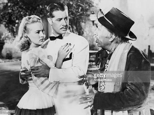 American actor Don Ameche and actress Betty Grable star in the 20th Century Fox musical romance 'Down Argentine Way', 1940.