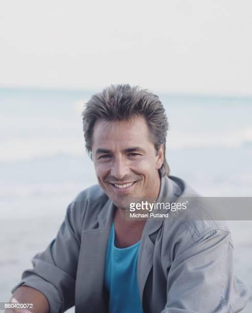 American actor Don Johnson, Florida, November 1986.
