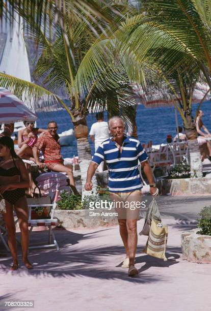 American actor Douglas Fairbanks Junior on holiday in Acapulco, Mexico, February 1966.