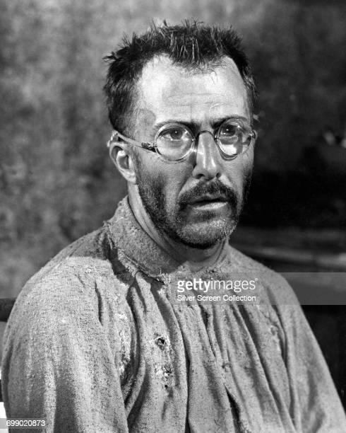 American actor Dustin Hoffman as Louis Dega in the prison drama 'Papillon' 1973