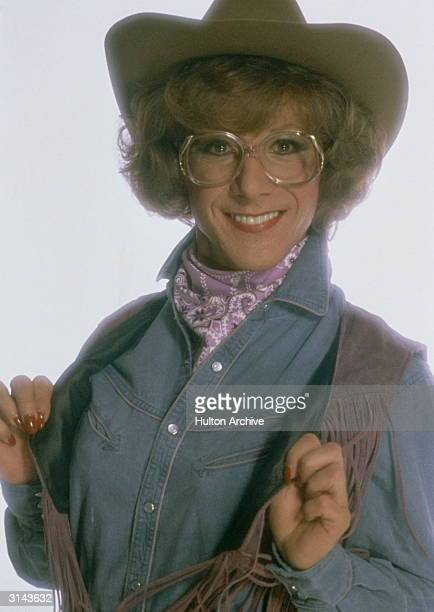 American actor Dustin Hoffman in 'Tootsie' in which he plays an unemployed actor who finds fame after dressing up as a woman