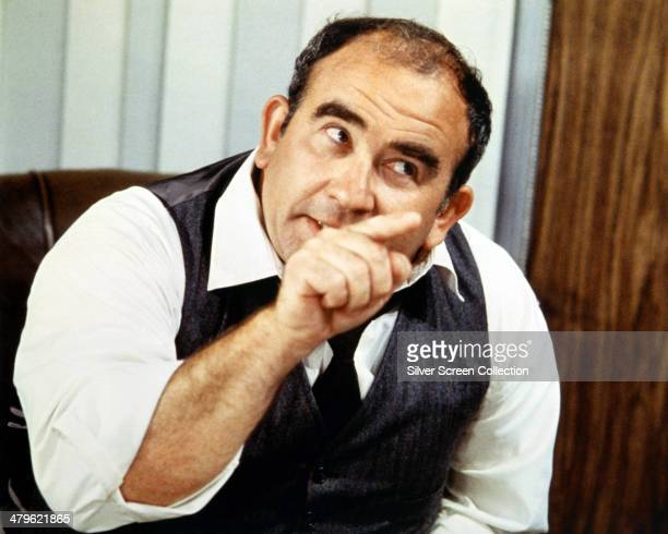 American actor Ed Asner as newspaper editor Lou Grant in the US TV show 'The Mary Tyler Moore Show' circa 1975
