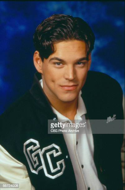 American actor Eddie Cibrian poses in character as Matt Clark in a publicity portrait for the daytime soap opera drama series 'The Young and the...