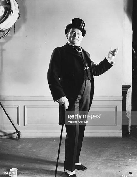 American actor Edward Arnold plays Diamond Jim Brady in 'Diamond Jim' a film about the life of a millionaire playboy directed by A Edward Sutherland...