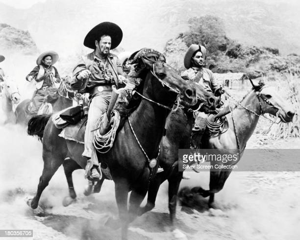 American actor Eli Wallach , as the bandit leader, Calvera, in 'The Magnificent Seven', directed by John Sturges, 1960.