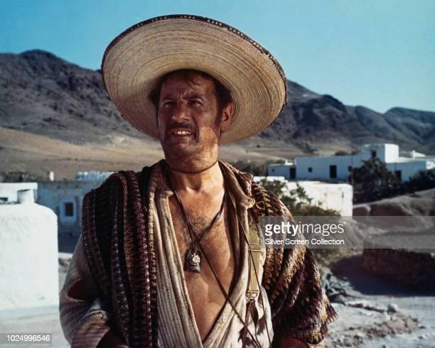 American actor Eli Wallach as Tuco in the spaghetti western 'Il buono, il brutto, il cattivo' , 1966.