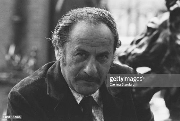 American actor Eli Wallach posed in London on 25th September 1970.