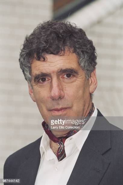 American actor Elliott Gould pictured attending a press call to promote the BBC Television film 'Doggin' Around' in which he appears October 1994