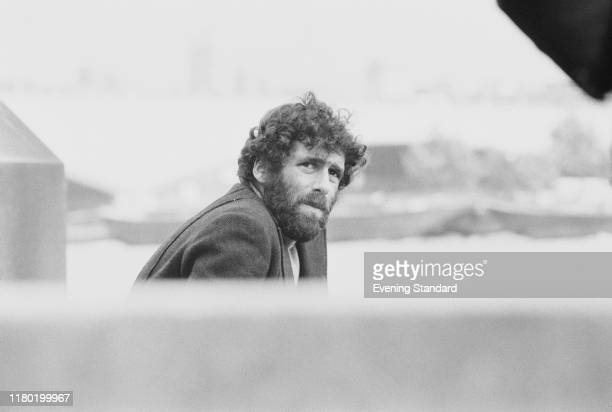 American actor Elliott Gould posed in London on 11th September 1970 Elliott Gould plays the role of Trapper John McIntyre in the recently released...