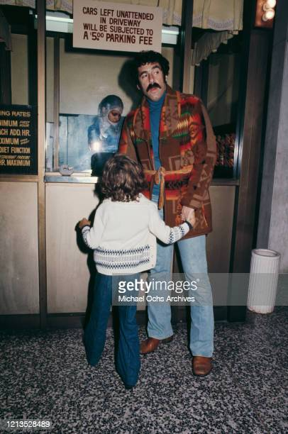 American actor Elliott Gould with his son Jason USA circa 1972