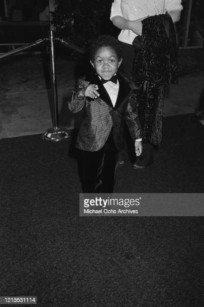 American actor Emmanuel Lewis attends the Third Annual Television Academy Hall of Fame induction ceremony in Santa Monica California 1986