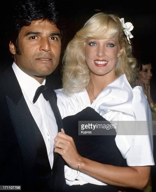 American actor Eric Estrada with his partner circa 1983