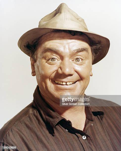 American actor Ernest Borgnine as he appears in 'The Flight Of The Phoenix' directed by Robert Aldrich 1965 Borgnine plays Trucker Cobb in the film