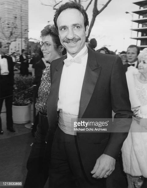 American actor F Murray Abraham at the Academy Awards in Los Angeles 25th March 1985 He won the Best Actor award for his role as Antonio Salieri in...
