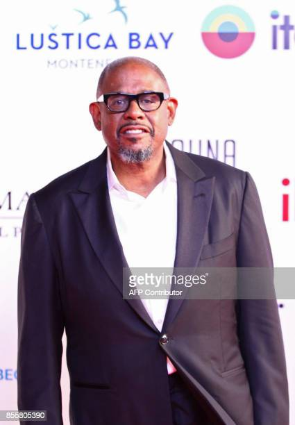 American actor Forest Whitaker attends the closing ceremony of the ElGouna Film Festival in the Red Sead resort of ElGouna in Egypt on September 29...
